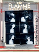 Une flamme dans mon coeur - German Movie Poster (xs thumbnail)