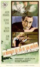 The St. Valentine's Day Massacre - Spanish Movie Poster (xs thumbnail)