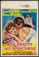 Under Capricorn - Belgian Movie Poster (xs thumbnail)