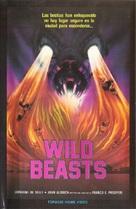 Wild beasts - Belve feroci - Spanish VHS cover (xs thumbnail)