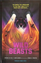 Wild beasts - Belve feroci - Spanish VHS movie cover (xs thumbnail)