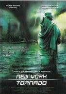 NYC: Tornado Terror - Spanish Movie Cover (xs thumbnail)