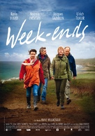 Week-ends - Swiss Movie Poster (xs thumbnail)