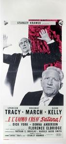 Inherit the Wind - Italian Movie Poster (xs thumbnail)