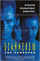 Scanners III: The Takeover - Movie Poster (xs thumbnail)