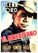 The Americano - Spanish Movie Poster (xs thumbnail)