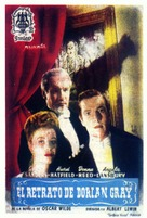 The Picture of Dorian Gray - Spanish Movie Poster (xs thumbnail)