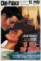 Le quai des brumes - Belgian Movie Poster (xs thumbnail)