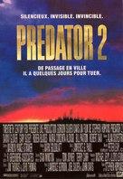 Predator 2 - French Movie Poster (xs thumbnail)