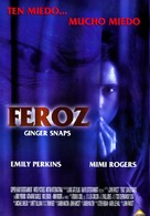 Ginger Snaps - Mexican Movie Poster (xs thumbnail)