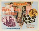 No Minor Vices - Movie Poster (xs thumbnail)