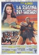 La regina dei tartari - Italian Movie Poster (xs thumbnail)