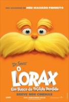 The Lorax - Brazilian Movie Poster (xs thumbnail)