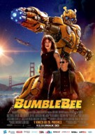 Bumblebee - Czech Movie Poster (xs thumbnail)