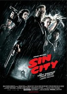 Sin City - German Movie Poster (xs thumbnail)
