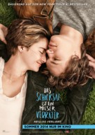 The Fault in Our Stars - German Movie Poster (xs thumbnail)