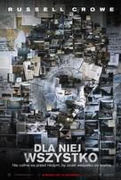 The Next Three Days - Polish Movie Poster (xs thumbnail)