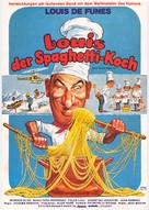 Grand restaurant, Le - German Movie Poster (xs thumbnail)