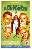 Monkey Business - Spanish Movie Poster (xs thumbnail)