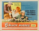 Six Black Horses - Movie Poster (xs thumbnail)