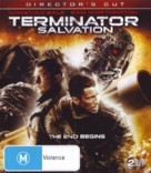 Terminator Salvation - Blu-Ray cover (xs thumbnail)