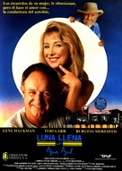 Full Moon in Blue Water - Spanish Movie Poster (xs thumbnail)