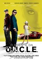 The Man from U.N.C.L.E. - Brazilian Movie Poster (xs thumbnail)