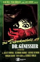 Les yeux sans visage - German VHS cover (xs thumbnail)