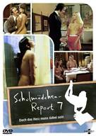 Schulmädchen-Report 7: Doch das Herz muß dabei sein - German DVD cover (xs thumbnail)