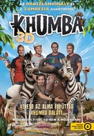 Khumba - Hungarian Movie Poster (xs thumbnail)