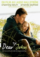 Dear John - Swedish DVD movie cover (xs thumbnail)