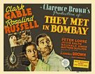 They Met in Bombay - Movie Poster (xs thumbnail)