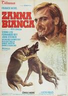 Zanna Bianca - Italian Movie Poster (xs thumbnail)
