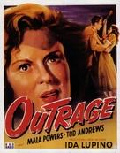 Outrage - Belgian Movie Poster (xs thumbnail)