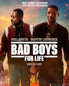 Bad Boys for Life - German Movie Poster (xs thumbnail)
