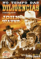 Stagecoach - Brazilian DVD movie cover (xs thumbnail)