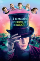 Charlie and the Chocolate Factory - Brazilian Movie Poster (xs thumbnail)