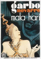 Mata Hari - Swedish Movie Poster (xs thumbnail)