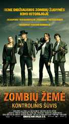 Zombieland: Double Tap - Lithuanian Movie Poster (xs thumbnail)