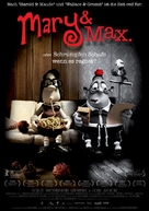 Mary and Max - German Movie Poster (xs thumbnail)