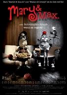 Mary and Max - German Movie Poster (xs thumbnail)
