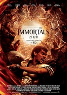 Immortals - Spanish Movie Poster (xs thumbnail)