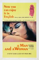 Un homme et une femme - Movie Poster (xs thumbnail)