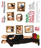 Four Christmases - French Movie Poster (xs thumbnail)