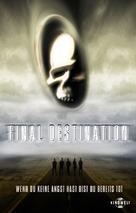 Final Destination - German Movie Cover (xs thumbnail)
