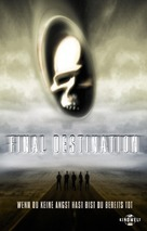 Final Destination - German Movie Cover (xs thumbnail)