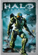 Halo Legends - DVD cover (xs thumbnail)