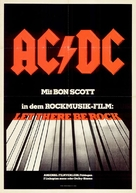 AC/DC: Let There Be Rock - German Movie Poster (xs thumbnail)