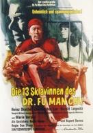 The Brides of Fu Manchu - German Movie Poster (xs thumbnail)