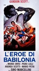 Eroe di Babilonia, L' - Italian Movie Poster (xs thumbnail)